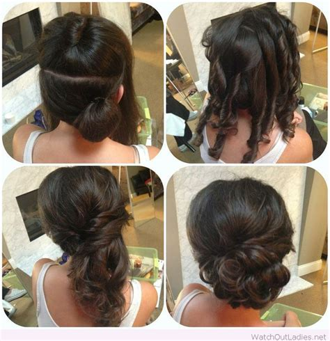 awesome side updo tutorial for weddings updos prom hair updo hair hair styles