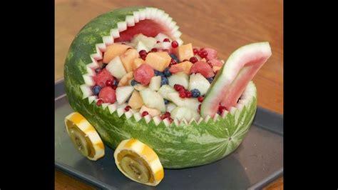 fruit salad decoration for baby shower