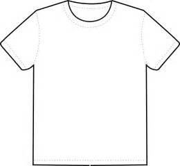 White Shirt Template by Blank White T Shirt Template Clipart Best