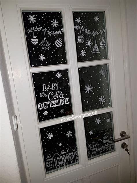 Fensterbilder Weihnachten Kreidestift Vorlagen by Weihnachtliche Fensterbilder Mit Kreidestift