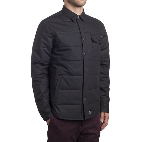 Mens Quilted Work Jackets huf quilted snap work jacket s backcountry
