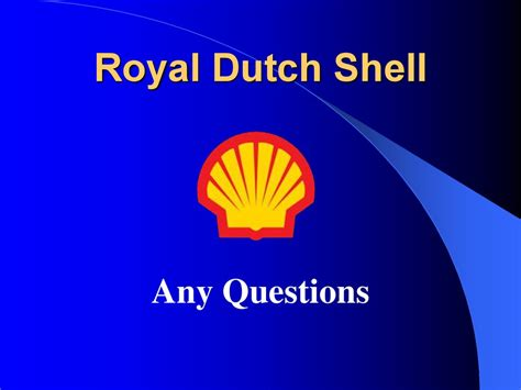 Royal Dutch Shell презентация онлайн Royal Shell Ppt