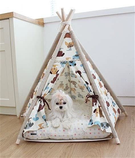 dog tent house adorable pet teepee indian tent home design garden architecture blog magazine