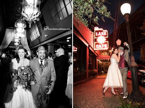 New Find The Brides Cafe by Lake Union Cafe Seattle Wedding Tea Length Wedding Dress