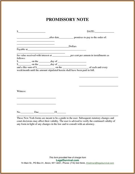 template for promissory note for personal loan promissory note template personal loan template resume