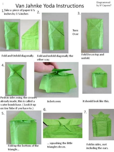 How To Make Origami Yoda - instrux finally origami yoda