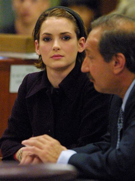 hollywood actress caught stealing winona ryder speaks about that shoplifting scandal