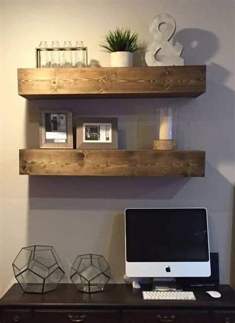 diy floating shelves shanty  chic