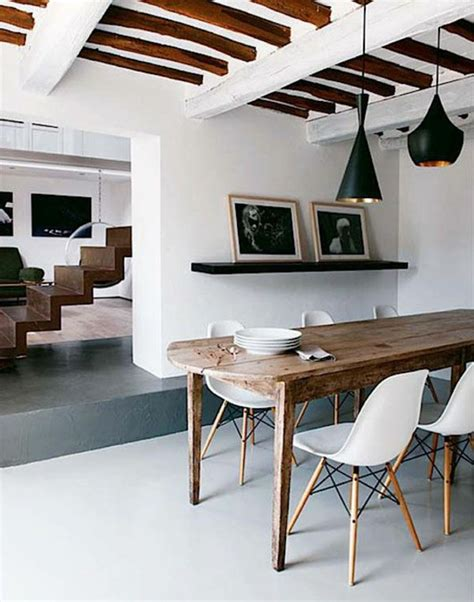 wooden beam ceiling for contemporary dining room ideas chairs for dining table 30 dining room furniture designs