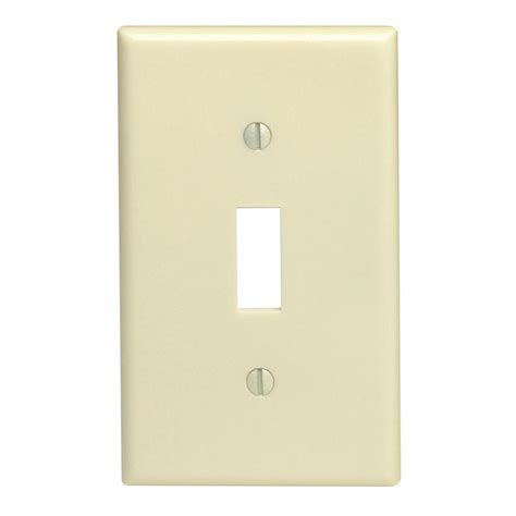amerelle paper it 1 toggle wall plate 99t the home depot