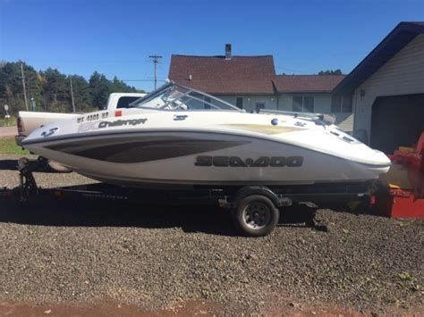 2008 sea doo challenger 180 for sale in ironwood michigan
