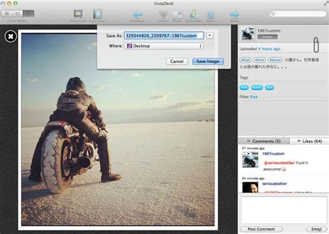 layout instagram for mac instadesk instagram client for the mac giveaway