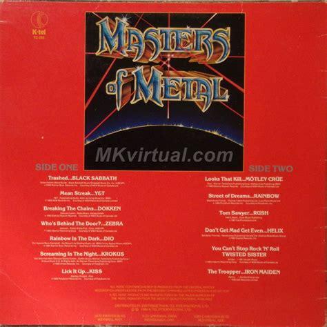 Master Vol 6 1 master of metal volume 1