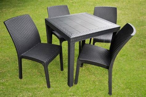 mesas para jardin de plastico mesa de plastico para terraza juego de sala para
