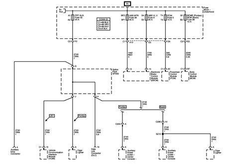 2003 pontiac aztek wiring diagram