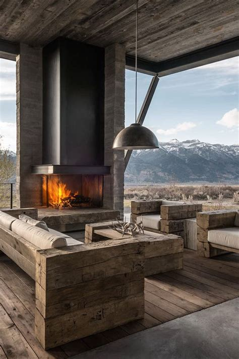 pictures of outdoor living spaces with fireplace outdoor living spaces with cozy fireplace design with