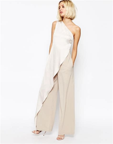 one jumpsuit with 17 best ideas about one shoulder jumpsuit on