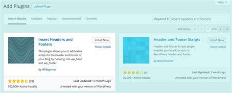 wordpress header layout plugin how to insert code into the head section of your wordpress