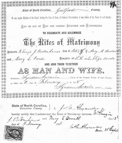 Marriage Records In South Carolina South Carolina Certified Marriage Certificate Pictures To