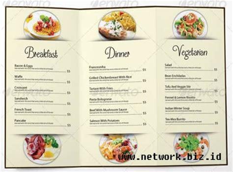 desain brosur resto contoh brosur restaurant joy studio design gallery