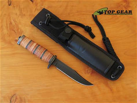 small fixed blade buck knife buck 117 small brahma fixed blade knife leather handle 117brs