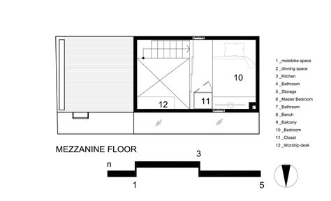 mezzanine floor plans gallery of 2 5 house khuon studio 16
