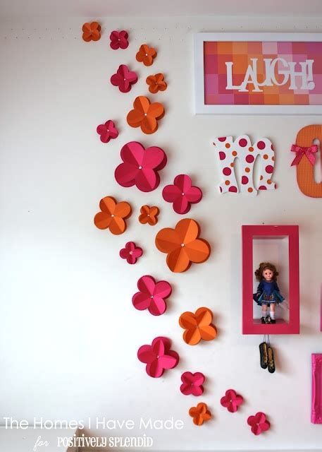 Home Decor Hiasan Dinding Pompom Crochet Wall Hanging Tosca Biru 3d paper wall flowers flower home and 3d paper