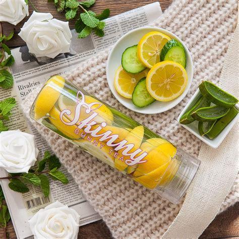 Bunny Tea Detox Water Recipes by Lemon Cucumber Aloe Vera Detox Water Bunny