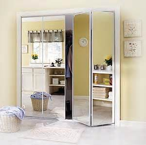 Bifold Mirrored Closet Door Bifold Mirrored Closet Doors Door Styles