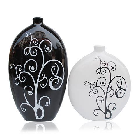 White Vase Decor by Home Decor Decoration Black And White Vase From Jingdezhen