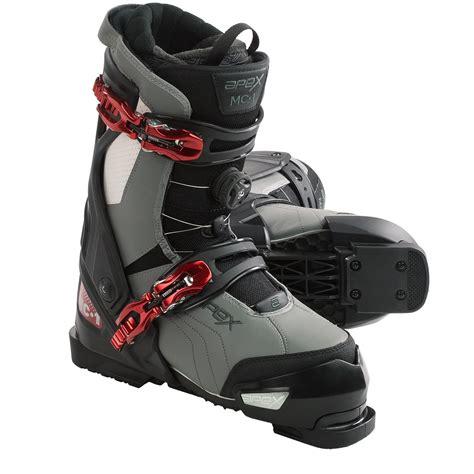 apex mc 1 alpine ski boots for 9617j save 62