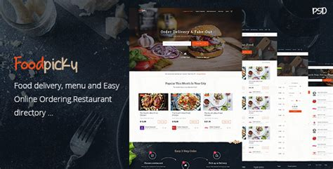 free bootstrap templates for online food order foodpicky online food ordering from local restaurants