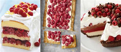 recipes with raspberries 15 raspberry dessert recipes desserts with raspberries