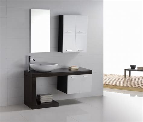 Modern Bathroom Vanity Aria Contemporary Vanities For Small Bathrooms
