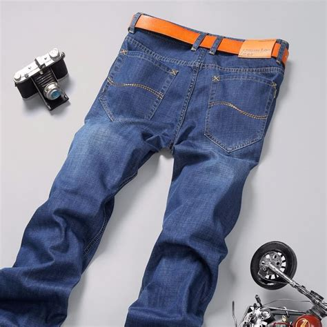 comfortable jeans mens new 2016 fashion mens jeans casual mens pants thin