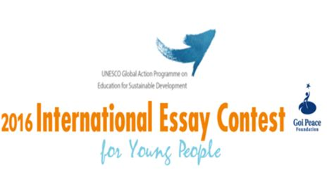 Essay Contest International by 2016 International Essay Contest For