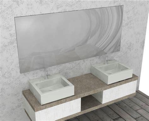 arredo bagno doppio lavabo el18 mobile arredo bagno design doppio lavabo l 180 cm