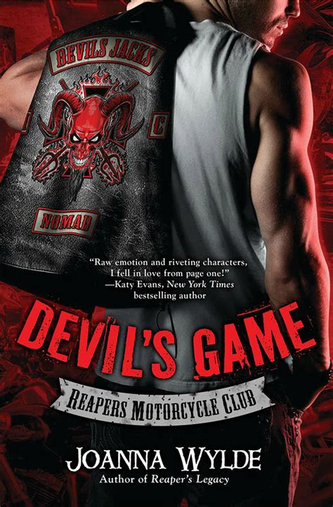 libro the devils star cover reveal devil s game reaper s mc 3 by joanna wylde blushing are up all night