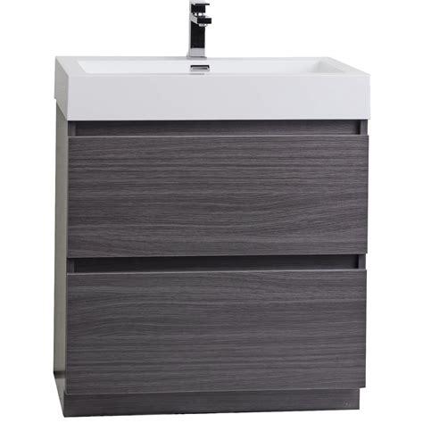 29 bathroom vanity 29 5 quot contemporary bathroom vanity black sable tn ly750 bs