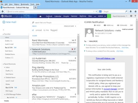 Office 365 Email Choosing Office 365 For The Enterprise Network World