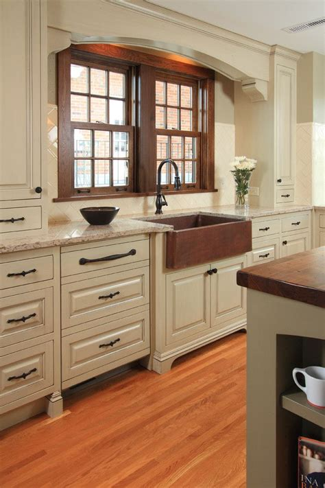 copper kitchen cabinets 1000 ideas about distressed kitchen on pinterest