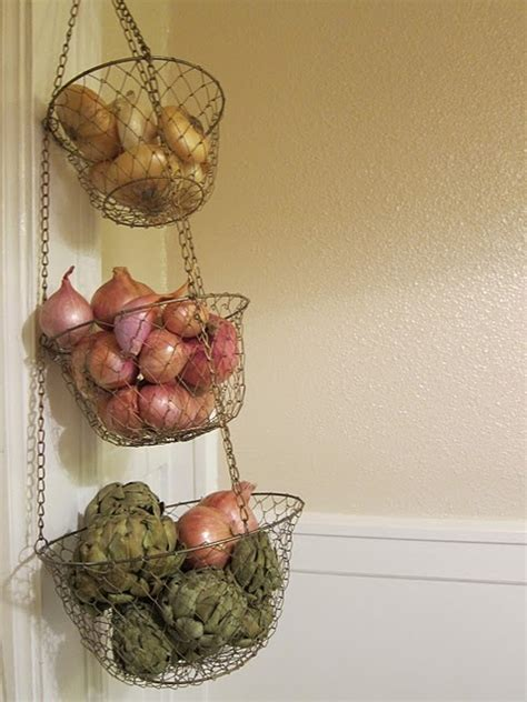How To Store Potatoes And Onions In Pantry by 20 Storage Ideas For Potatoes Onions And Garlic Jewelpie