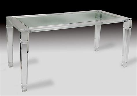 acrylic dining table maximize your space with acrylic furniture