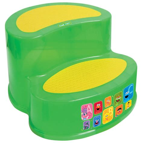 Bright Green Stool In Toddler by 2 Step Sesame Step Stool Baby N Toddler