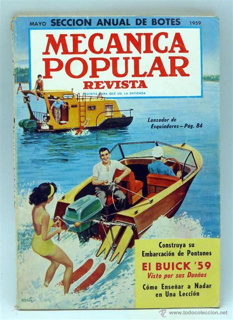 mec nica popular la revista de mec nica popular mec 225 nica popular revista n 186 5 vol 24 mayo 1959 comprar