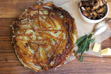 pinterest swiss food recipes r 246 sti swiss potato pancake with sauteed mushrooms