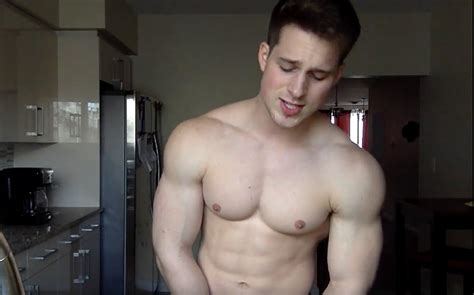 mens love men neked hunky model nick sandell has been warming up his pipes
