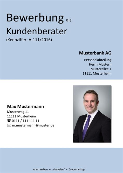 Bewerbung Deckblatt Erstellen Deckblatt In Der Bewerbung 252 Ber 100 Kostenlose Muster Vorlagen