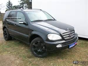 Mercedes 2003 Ml350 2003 Mercedes Ml350 Xenon Leather Lpg Auto Gas