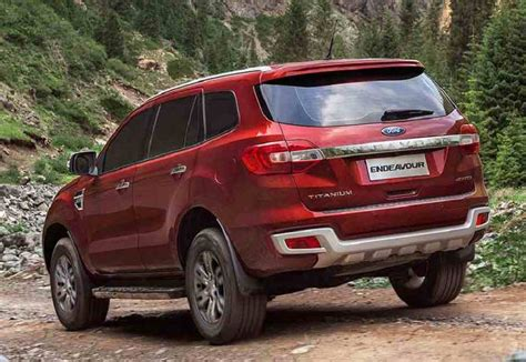 new ford new ford endeavour 2016 price mileage pics specifications